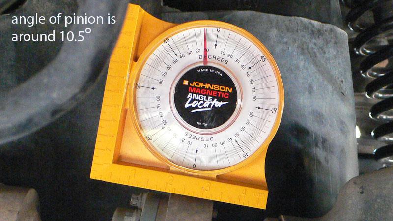 Rear Pinion Angle Amp Long Arm Lift Jk Forum Com The Top